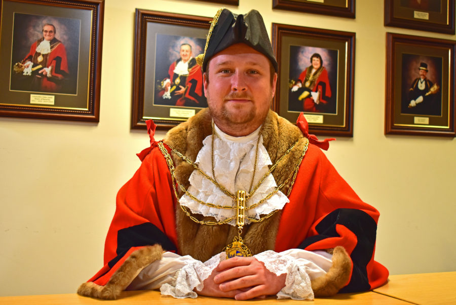 Mayor of Beverley Councillor Tom Astell